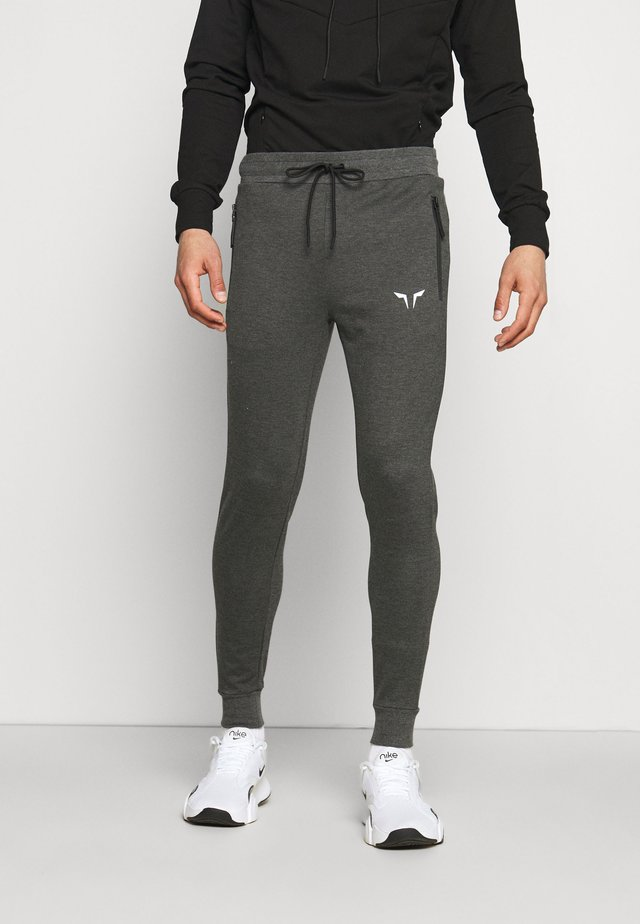 STATEMENT CLASSIC - Tracksuit bottoms - grey