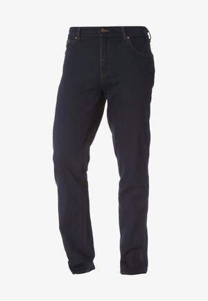 TEXAS STRETCH - Jeansy Straight Leg - blue black