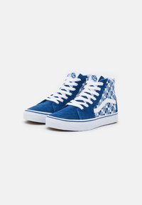 Vans - SK8 UNISEX - High-top trainers - true blue/true white - 1
