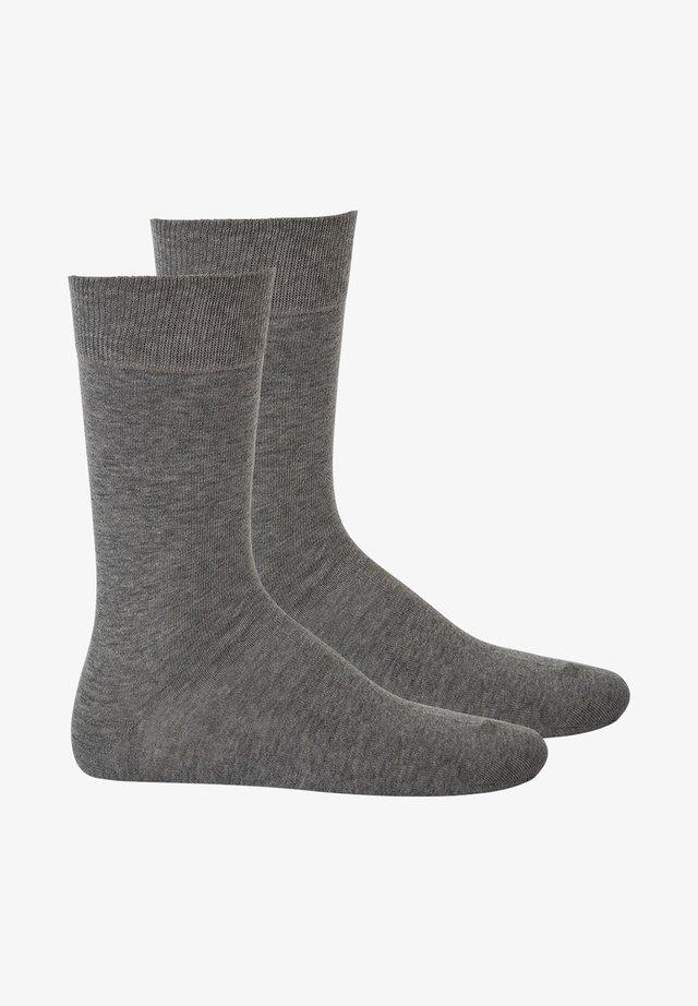 2 PACK - Socks - silber