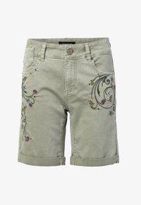 Desigual - Short en jean - green - 4