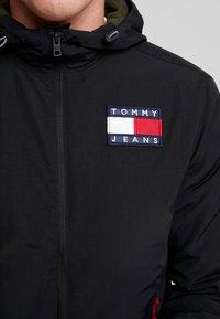 Tommy Jeans - JACKET - Light jacket - black - 5