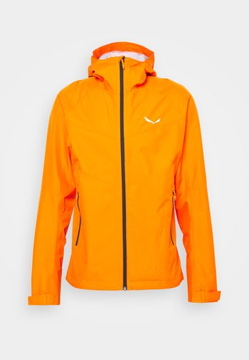 PUEZ - Waterproof jacket - red orange