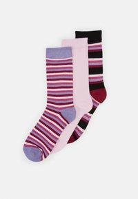 Wild Feet - BAMBOO STRIPES SOCKS 3 PACK - Socks - multi-coloured - 0