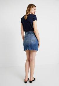 edc by Esprit - MINSKIRT - Denim skirt - blue medium wash - 2
