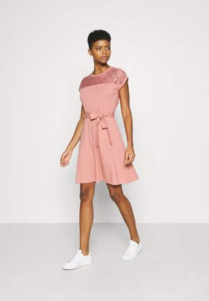 ONLBILLA DRESS - Jersey dress - old rose