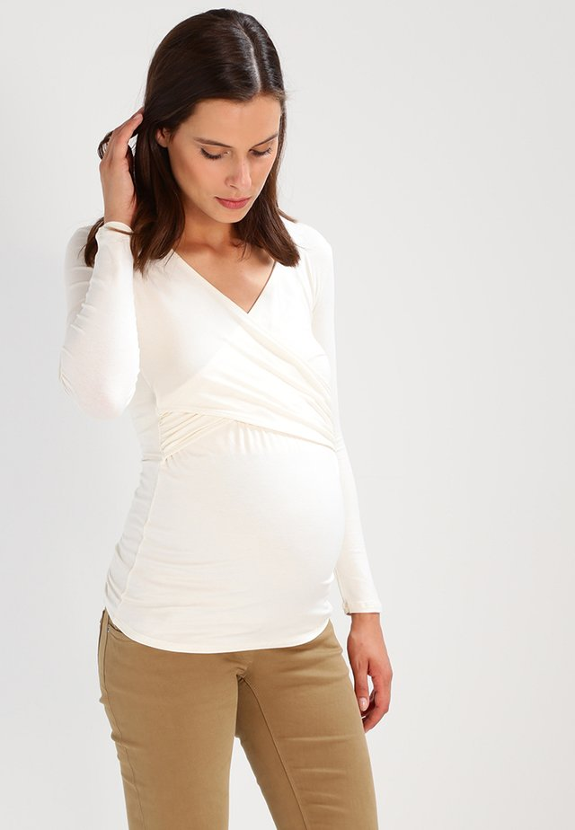 FIONA - Long sleeved top - off white