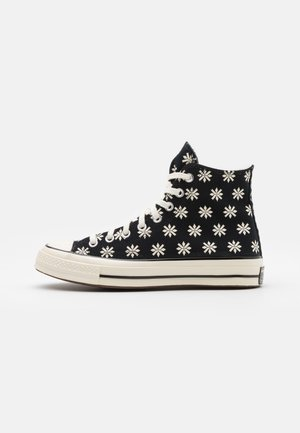 CHUCK TAYLOR ALL STAR 70 UNISEX - Korkeavartiset tennarit - black/egret