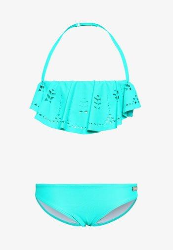 BANDEAU SET - Bikiny - turquoise