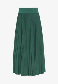 Anna Field - Plisse A-line midi skirt - Áčková sukně - teal - 4