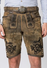 Stockerpoint - HARTL - Leather trousers - brown - 4