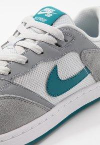 Nike SB - ALLEYOOP UNISEX - Skateschoenen - particle grey/geode teal/photon dust/white - 5