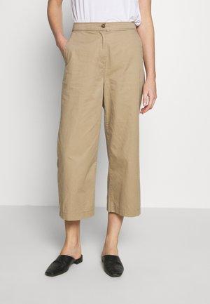 CULOTTE - Trousers - beige