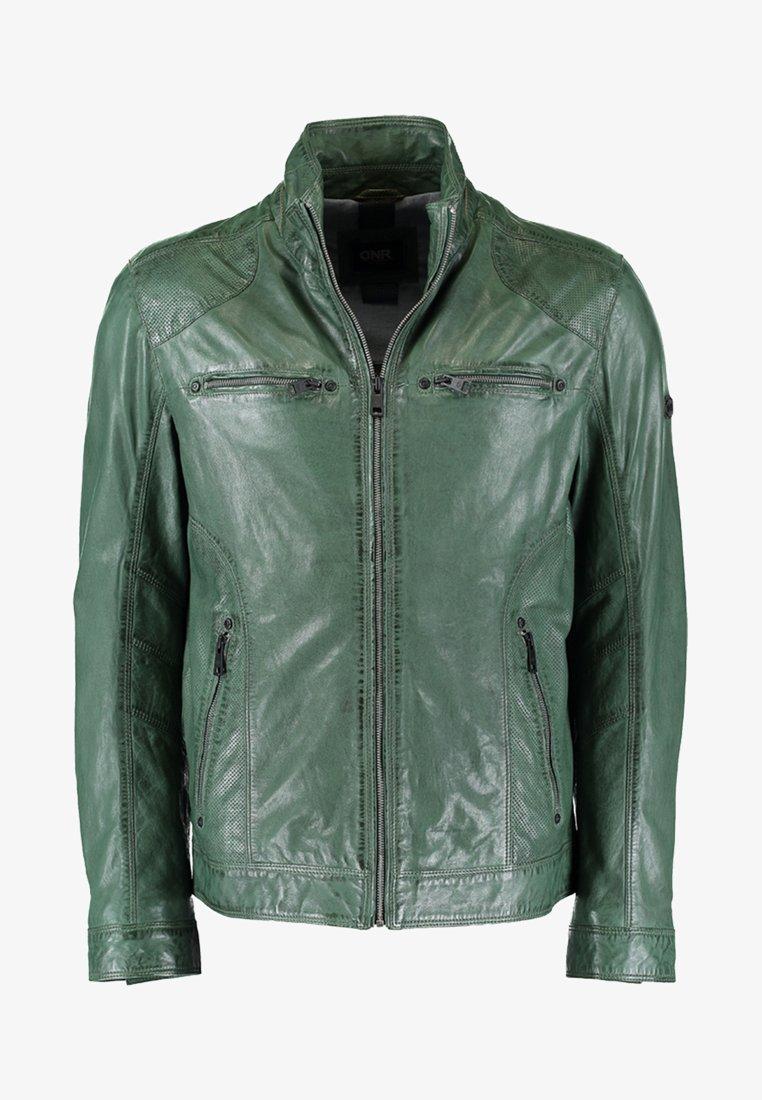 DNR Jackets - Leather jacket - tanne