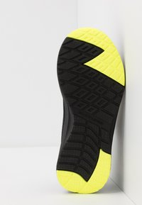 Skechers - DYNAMIC TREAD - Trainers - black/blue/lime - 5