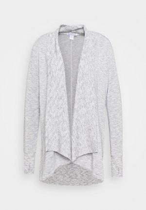 PRANAYAMA WRAP - Zip-up sweatshirt - marl heather