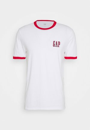 LOGO RINGER  - T-shirt con stampa - optic white
