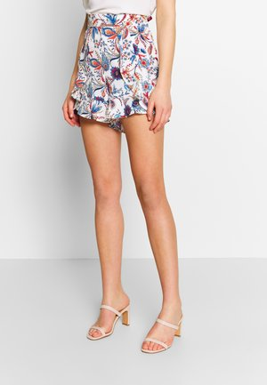 LADIES WOVEN - Shorts - dalhia blue