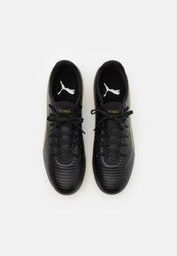 Puma - KING PRO FG - Moulded stud football boots - black/team gold - 3