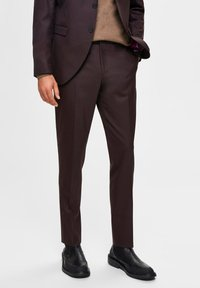 Selected Homme - Suit trousers - winetasting - 0