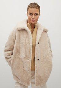 Mango - WOODI - Winter coat - écru - 0