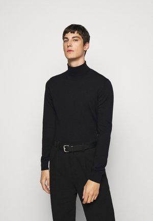 LYD - Stickad tröja - black