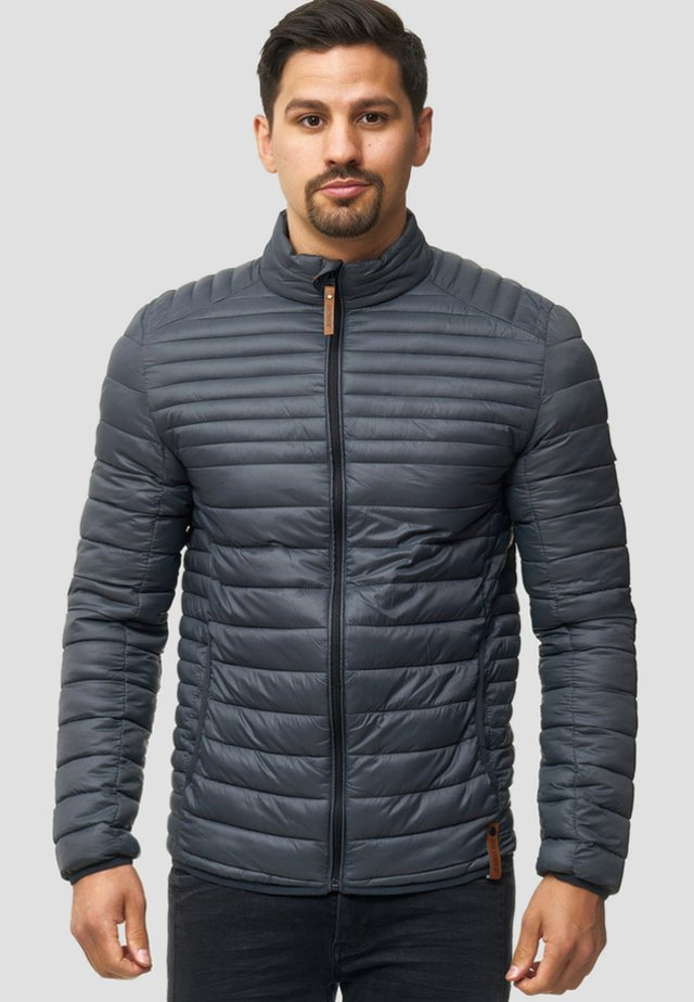 REGULAR FIT - Light jacket - gray