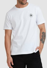 RVCA - SEAL  - Print T-shirt - white - 3