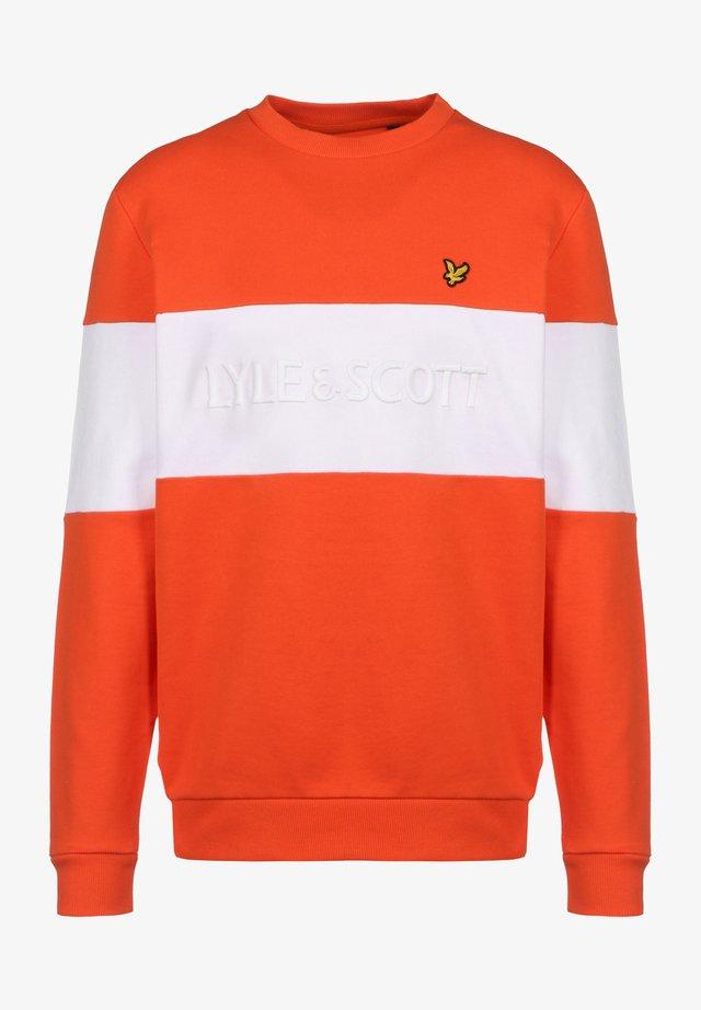 LOGO - Sweatshirt - burnt sienna