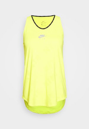 AIR TANK - Sports shirt - opti yellow/reflective silver
