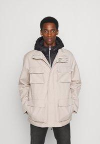 Armani Exchange - CABAN COAT - Winterjas - pure cashmere/black - 0
