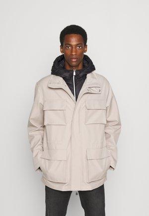 CABAN COAT - Winter jacket - pure cashmere/black