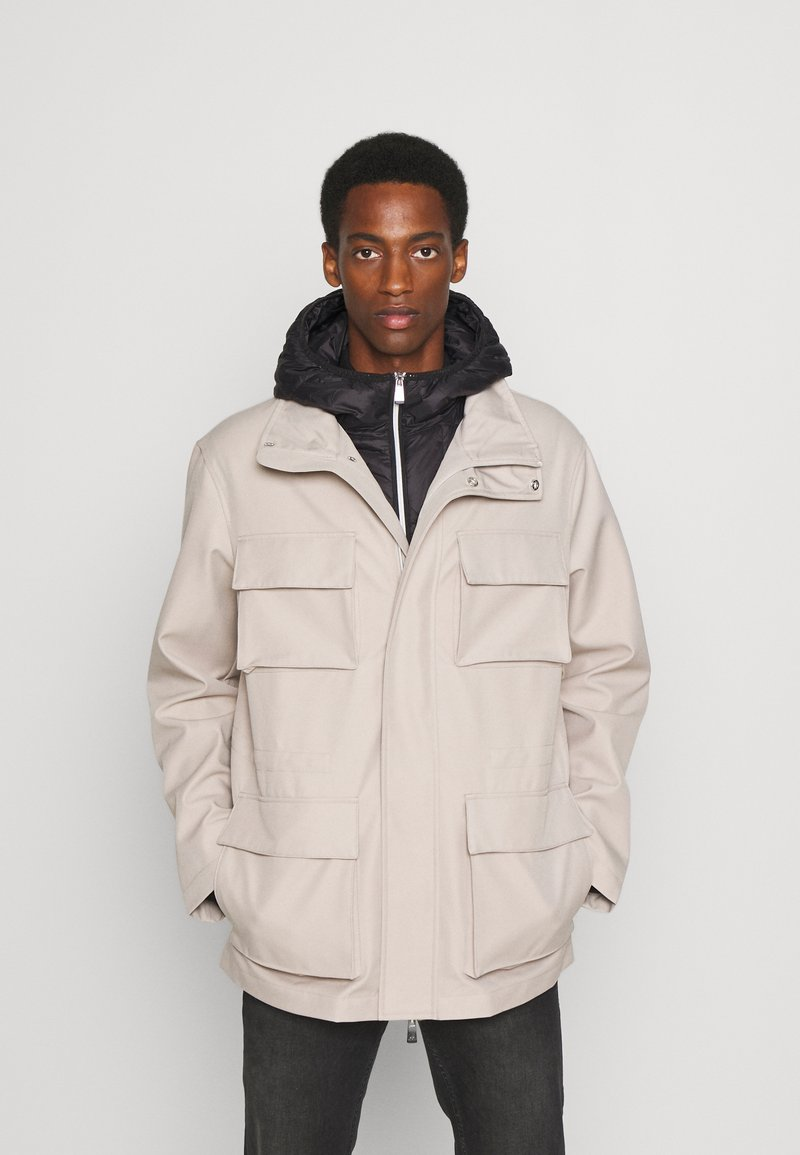 Armani Exchange - CABAN COAT - Winterjas - pure cashmere/black