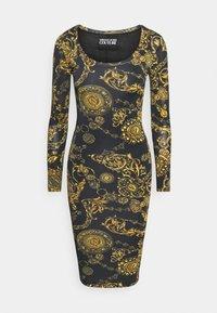 Versace Jeans Couture - Vestido ligero - black/gold - 4