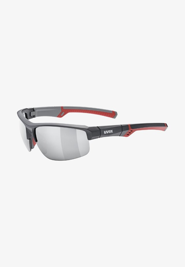 Sports glasses - grey/red