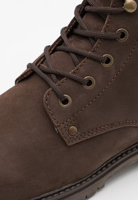 Selected Homme - SLHMICHAEL BOOT - Lace-up ankle boots - demitasse - 5