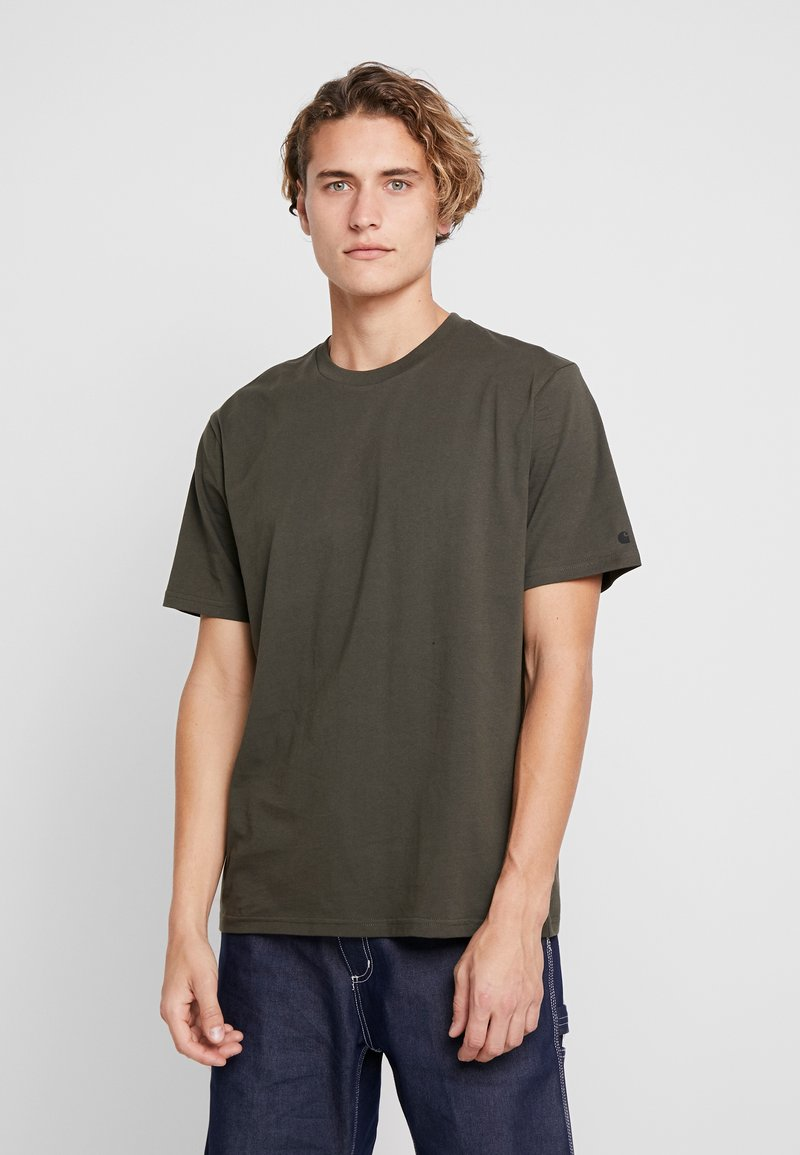 Carhartt WIP - BASE  - Basic T-shirt - cypress/black