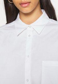 Monki - TAY SHIRT - Button-down blouse - white - 5