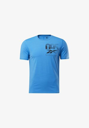 ACTIVCHILL GRAPHIC MOVE T-SHIRT - T-shirt con stampa - blue