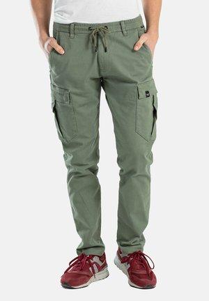 REFLEX EASY CARGO - Cargo trousers - light olive