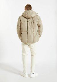 PULL&BEAR - Winter jacket - mottled beige - 2