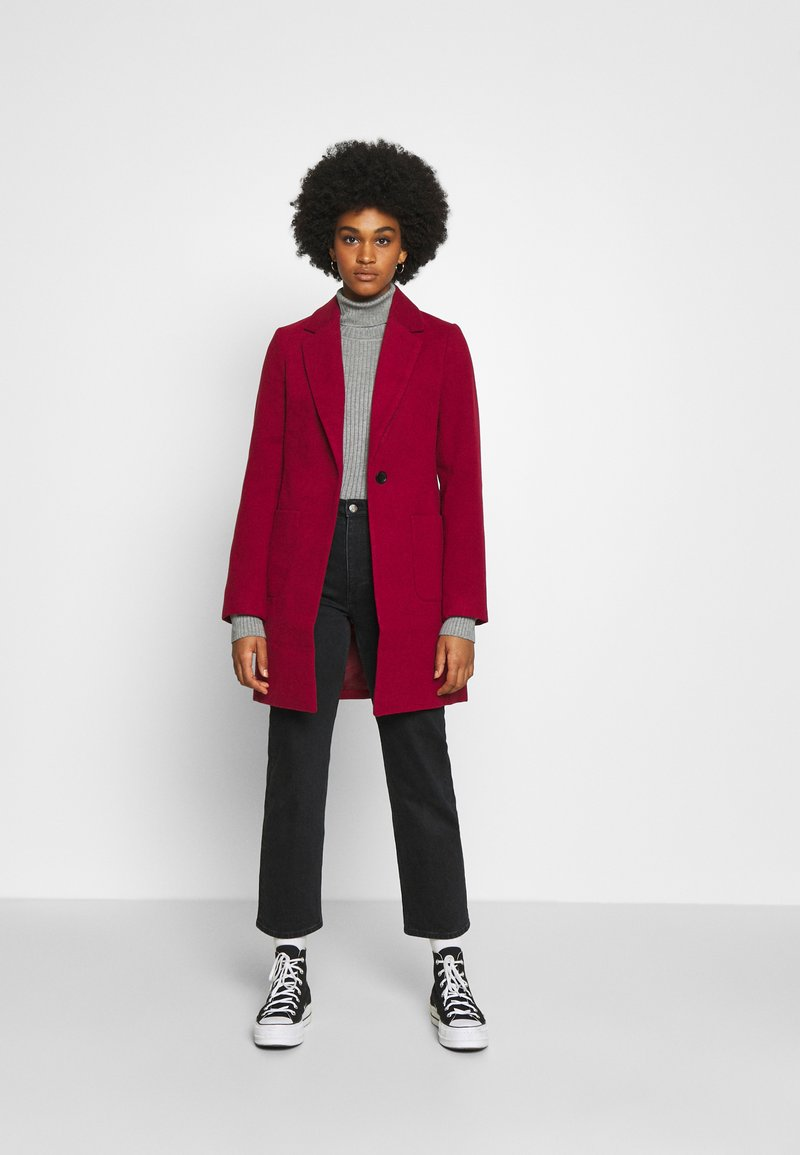 Even&Odd - Cappotto classico - dark red