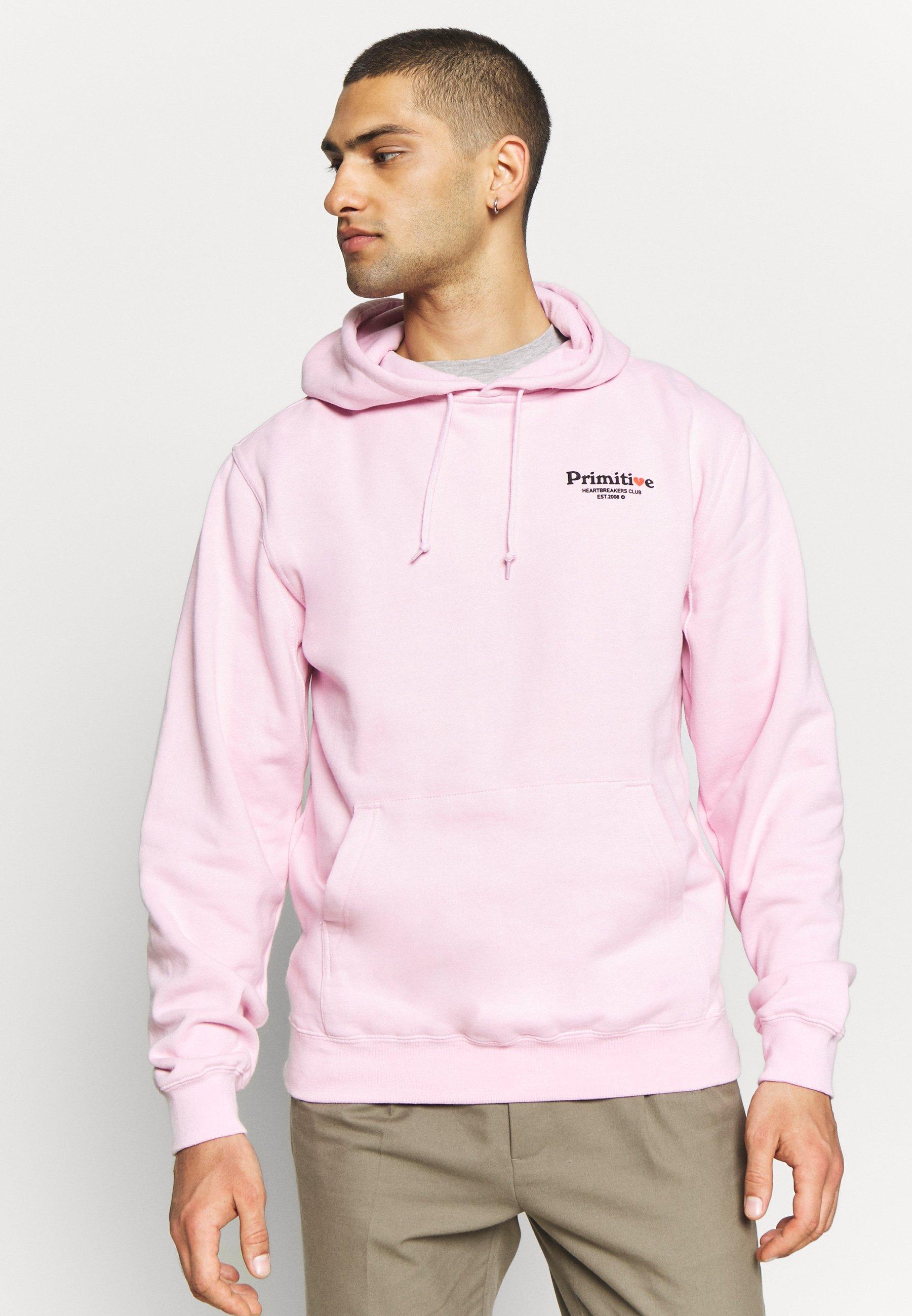 2020 Alennus Miesten vaatteet Sarja dfKJIUp97454sfGHYHD Primitive DIRTY CUPID HOOD Huppari pink
