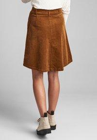 Nümph - NUMEGHAN - A-snit nederdel/ A-formede nederdele - bronze - 2