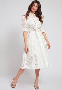 Guess - A-line skirt - weiß - 1