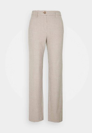 Trousers - castagna