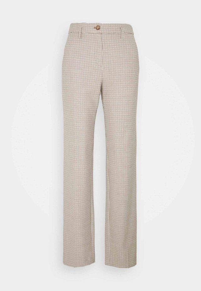 Trousers - castagna