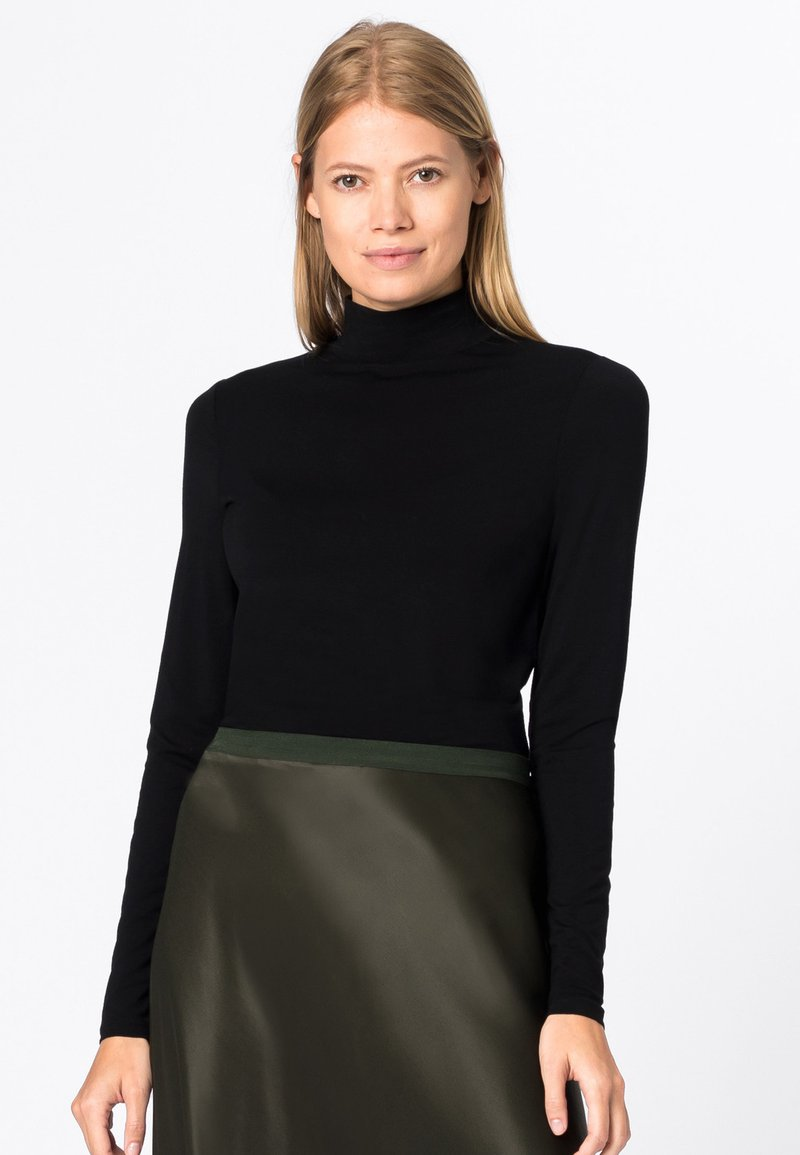 HALLHUBER - Long sleeved top - black