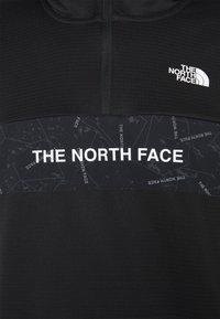 The North Face - TRAIN LOGO ZIP HOODIE - Kapuzenpullover - black - 2