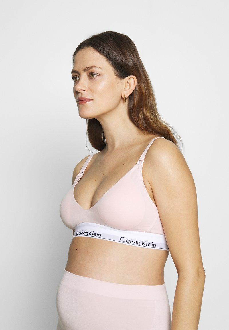 Calvin Klein Underwear - MODERN MATERNITY BRA - Korzet - nude